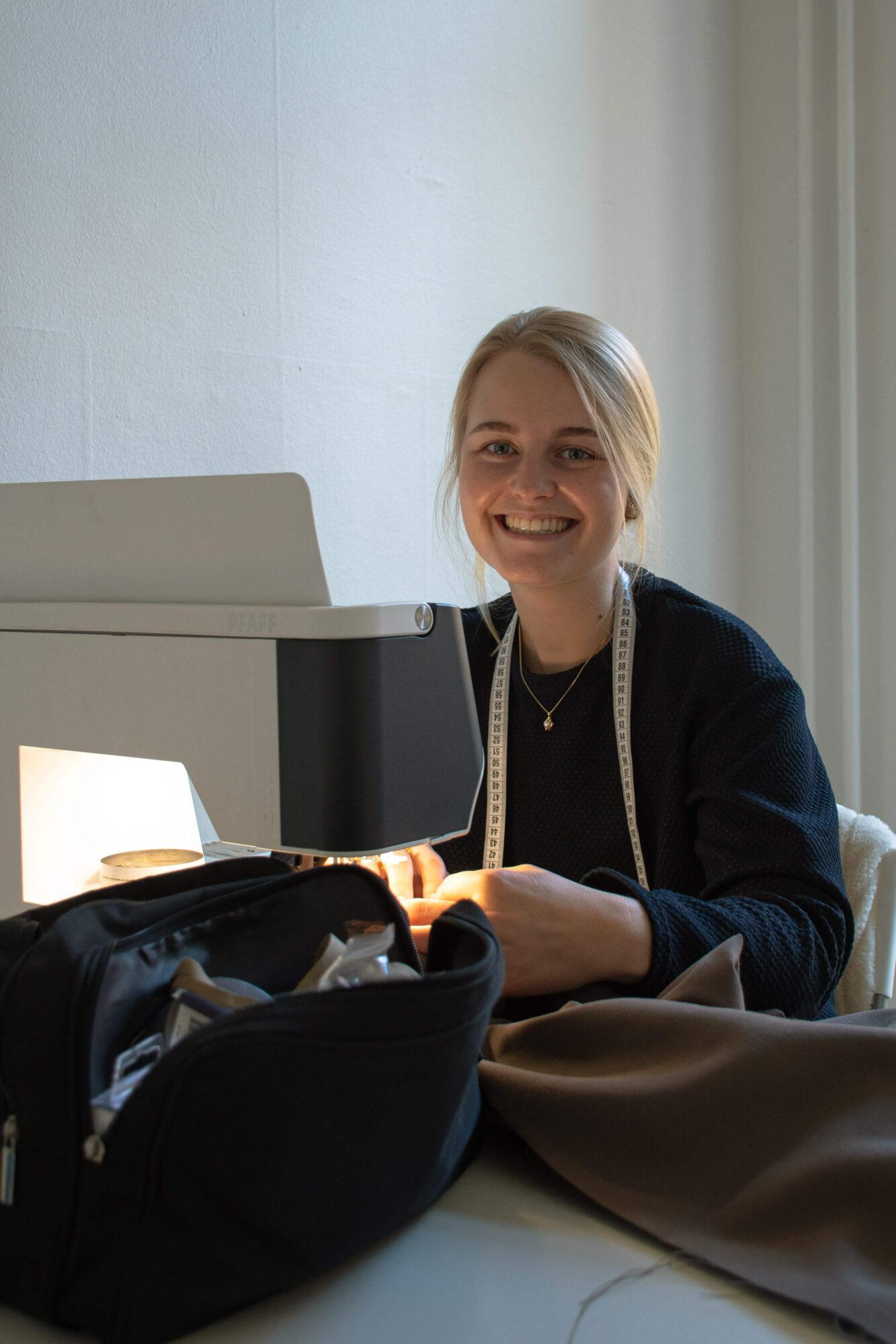 Clara Therese Borg Hjelt portrait