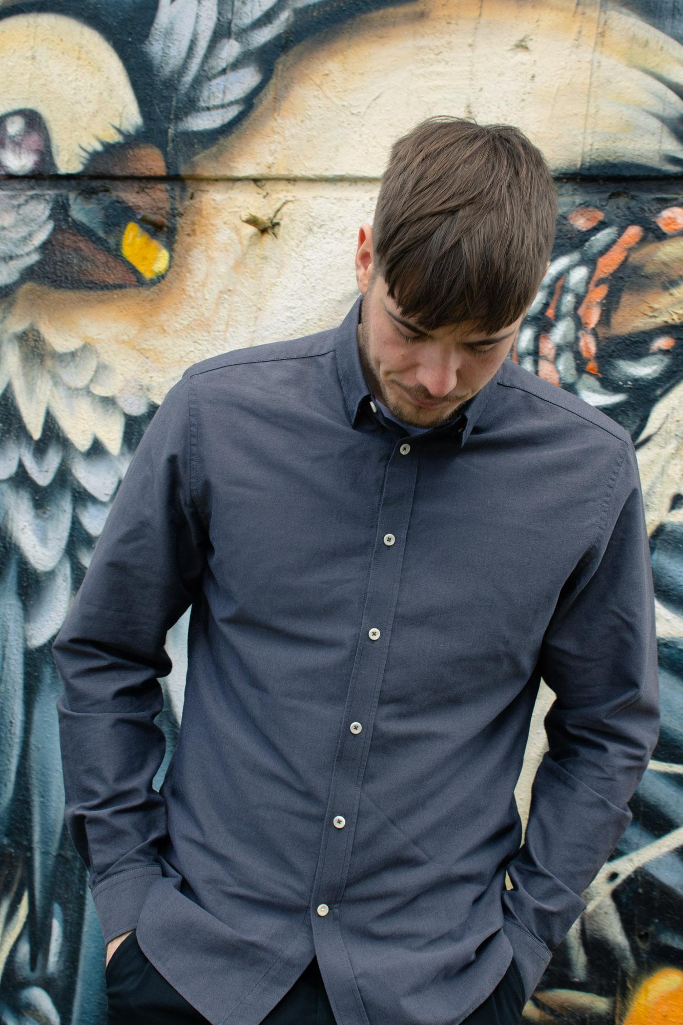 Økologisk bomuldsskjorte fra Consjus